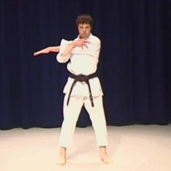 karate stretching