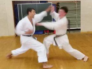 shotokan kumite exercise