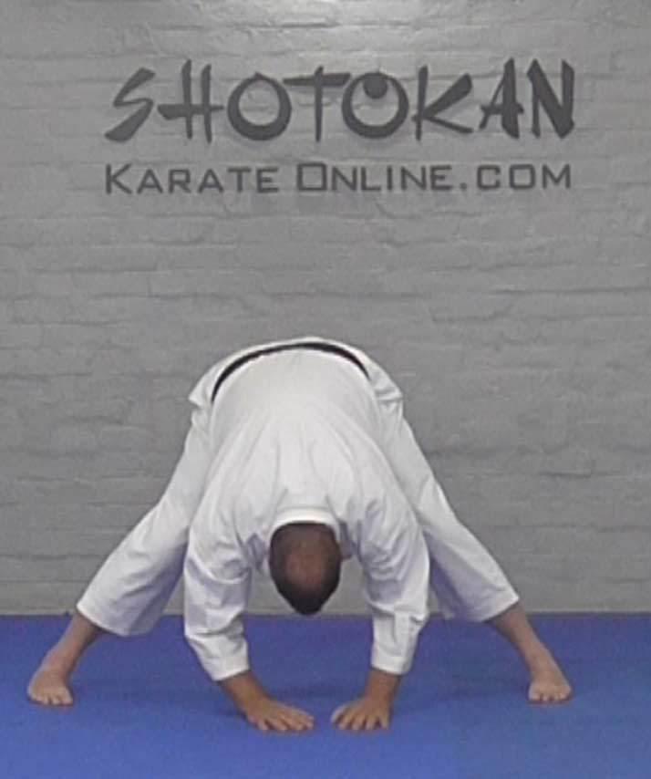 karate stretch