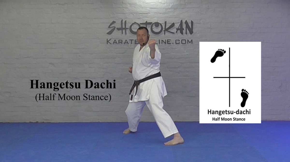 hangetsu dachi
