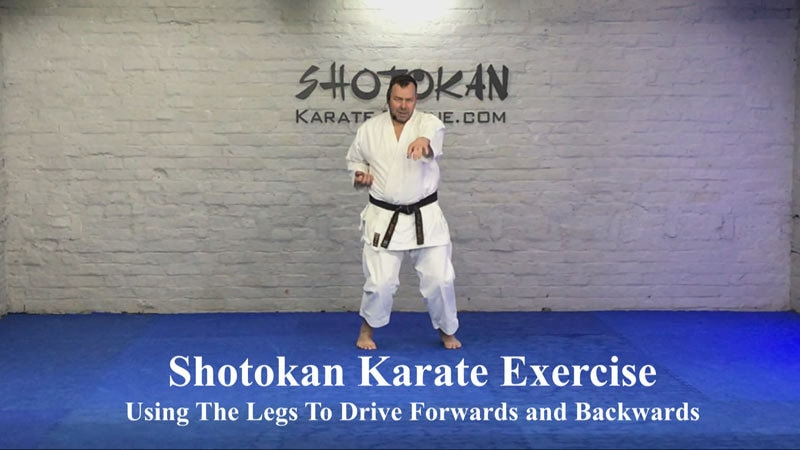shotokan karate exercise