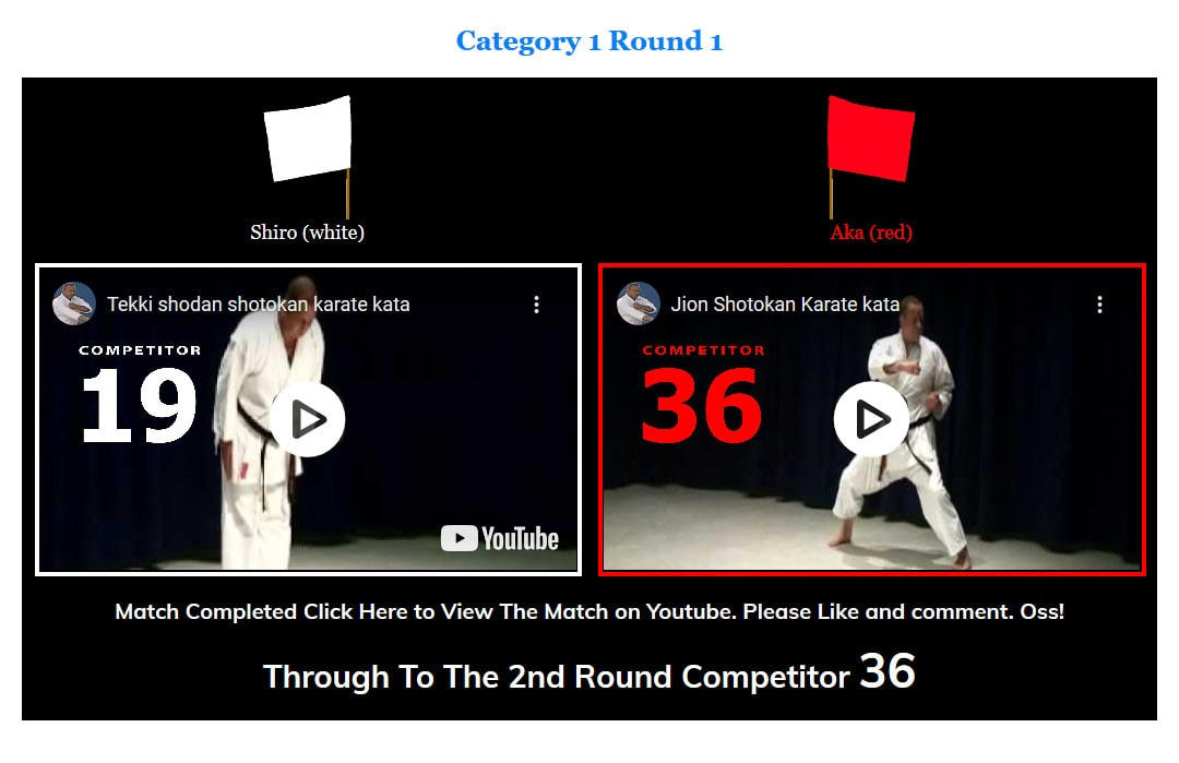 online kata competition