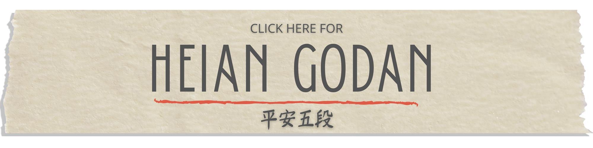 heian godan kata tutorial