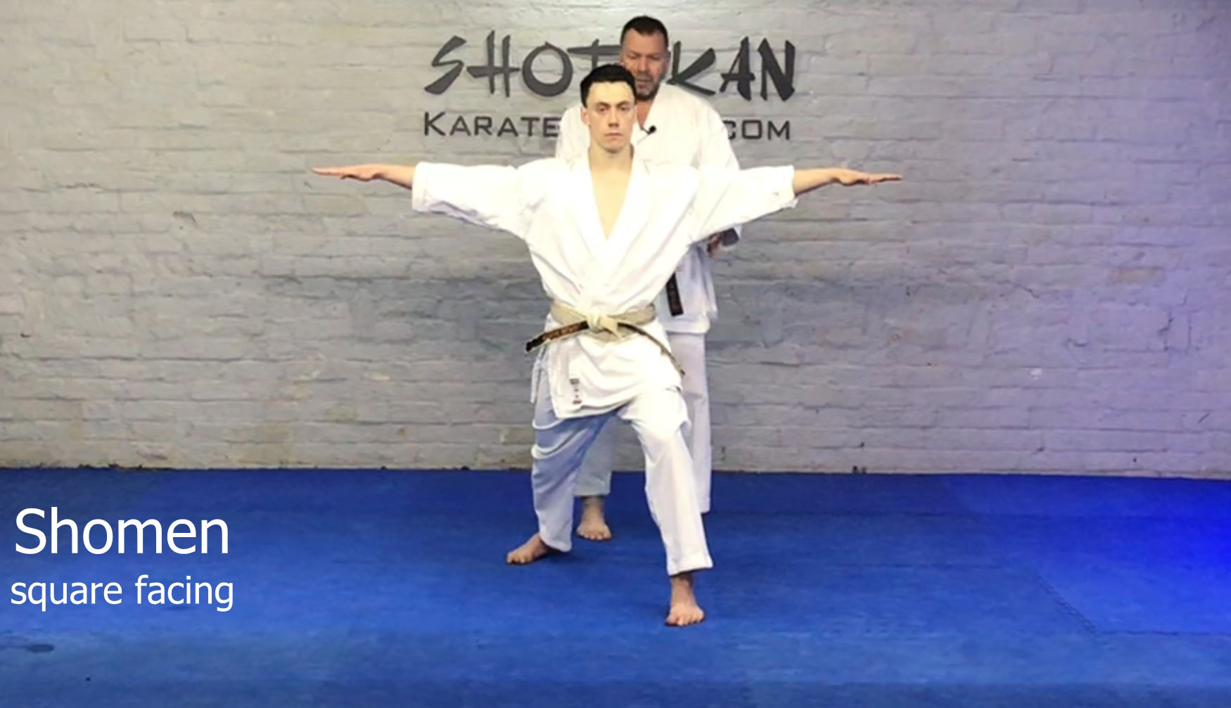 shotokan karate basic training