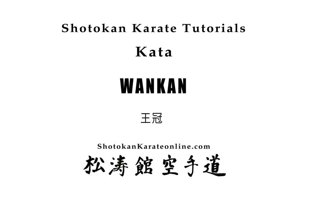 wankan kata tutorial