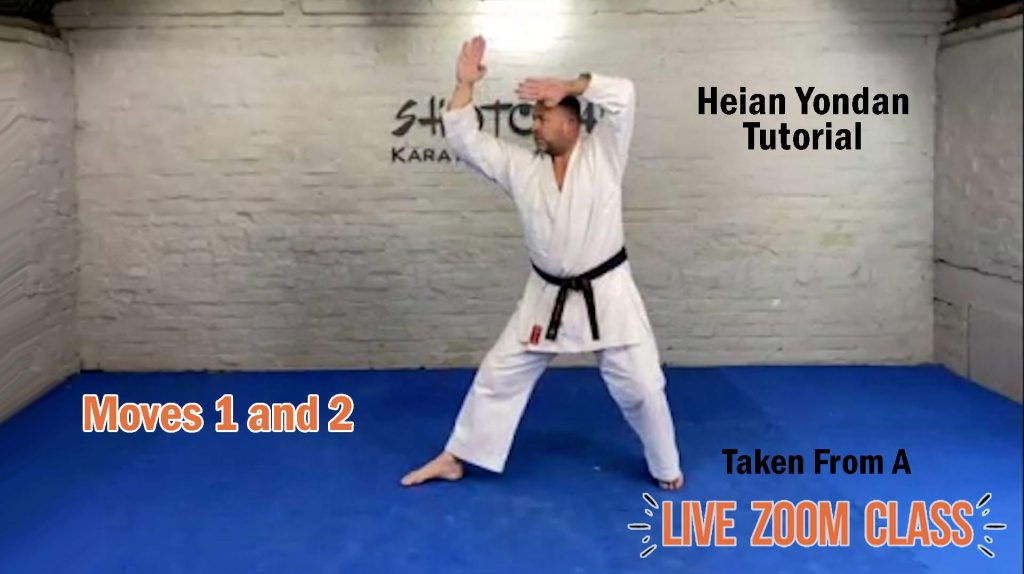 heian yondan moves 1 and 2