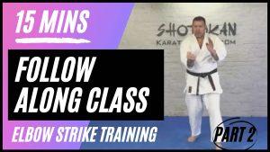 follow along karate class