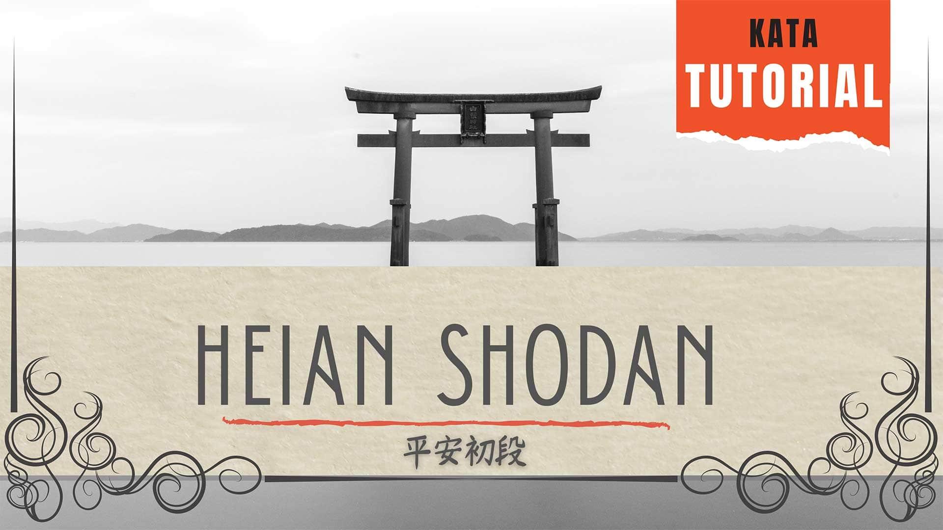 heian shodan kata tutorial