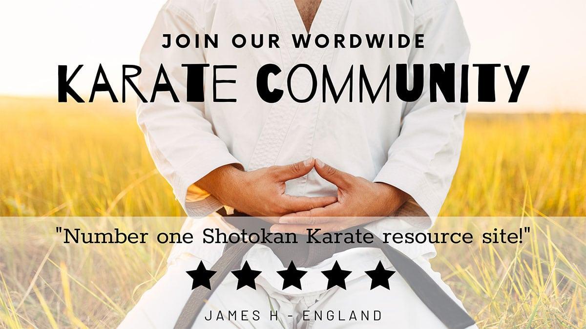 karate community