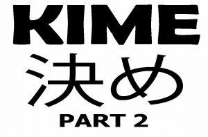 shotokan kime