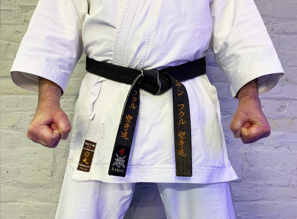 how long does it take to get black belt in karate