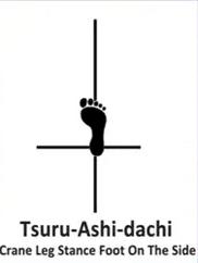 tsuru ashi dachi