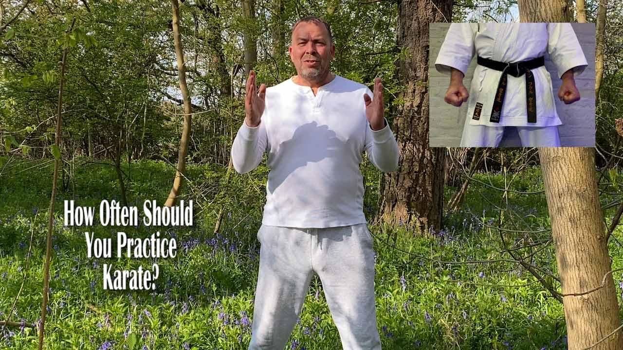 how often should you practice karate