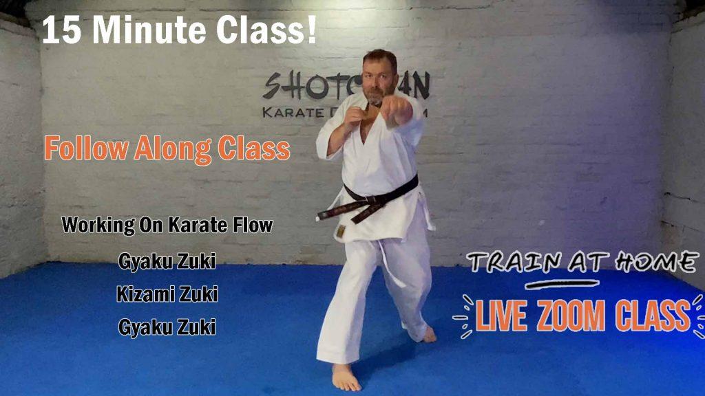 shotokan karate classes