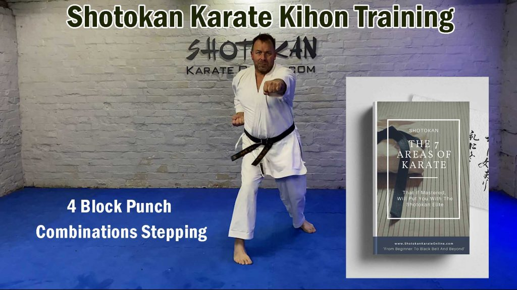 shotokan karate kihon training